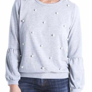 NWT KUT FROM THE KLOTH Dareila Pearl Pullover L
